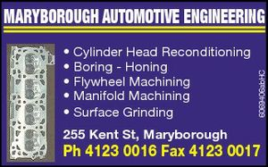 * Cylinder Head Reconditioning