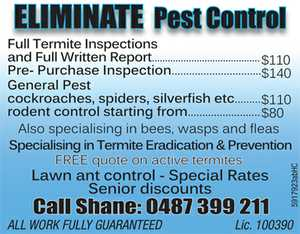 Lawn ant control - Special Rates