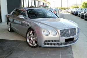 A truly amazing motors car!  2014 Bentley Flying Spur with only 1,818klms since new!  This beautifully crafted machine is in showroom condition and represents great value.  Our Bentley looks brilliant in Moonbeam Silver with Beluga Trim, Linen Piping and Burr Walnut Accents to the steering wheel and Dash.  This ...