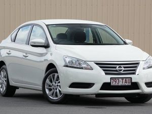 2013 Nissan Pulsar B17 ST White Diamond 1 Speed Constant Variable Sedan