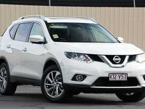 2015 Nissan X-Trail T32 Ti X-tronic 4WD Ivory White 7 Speed Constant Variable Wagon