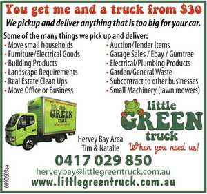You get me and a truck from $30