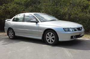 DY Holden Calais 2003, auto, 1 owner, 64000km orig, silver, dual climate ac, rear spoiler, 90% tyres 6mths rego as new cond $8750 ono