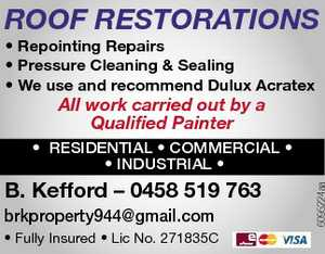 All work carried out by a qualified painter