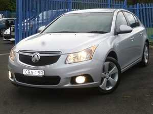 2014 Holden Cruze JH Series II MY14 Equipe Nitrate 5 Speed Manual Hatchback