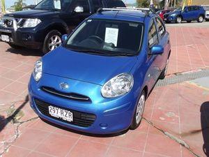 2011 Nissan Micra K13 ST-L Blue 5 Speed Manual Hatchback