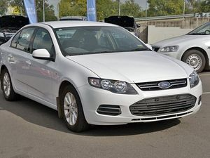 2012 Ford Falcon FG MkII XT Ecoboost White 6 Speed Automatic Sedan