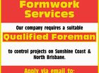 Qualified Foreman