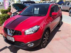 2013 Nissan Dualis J10W Series 4 MY13 Ti-L Hatch X-tronic 2WD Red 6 Speed Constant Variable Hatchbac
