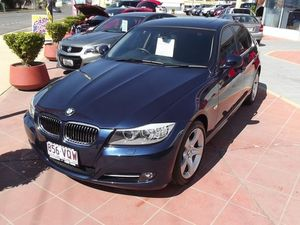 2010 BMW 320i E90 MY10 Executive Steptronic Blue 6 Speed Auto Seq Sportshift Sedan