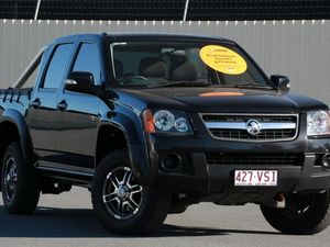 2009 Holden Colorado RC MY09 LX Crew Cab Black 5 Speed Manual Utility