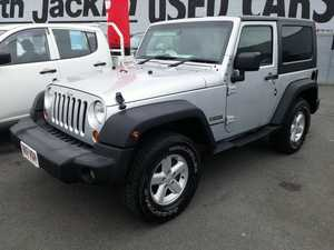2007 Jeep Wrangler JK Sport Silver 5 Speed Automatic Softtop
