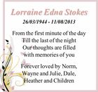 26/03/1944 - 11/08/2013