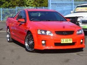 2009 Holden Ute VE MY09.5 SS V Red 6 Speed Auto Seq Sportshift Utility