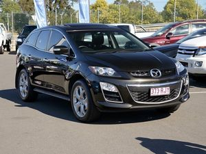 2010 Mazda CX-7 ER1032 Luxury Sports Black 6 Speed Automatic Wagon