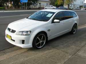 2009 Holden Commodore VE II Omega White 5 Speed Automatic Wagon
