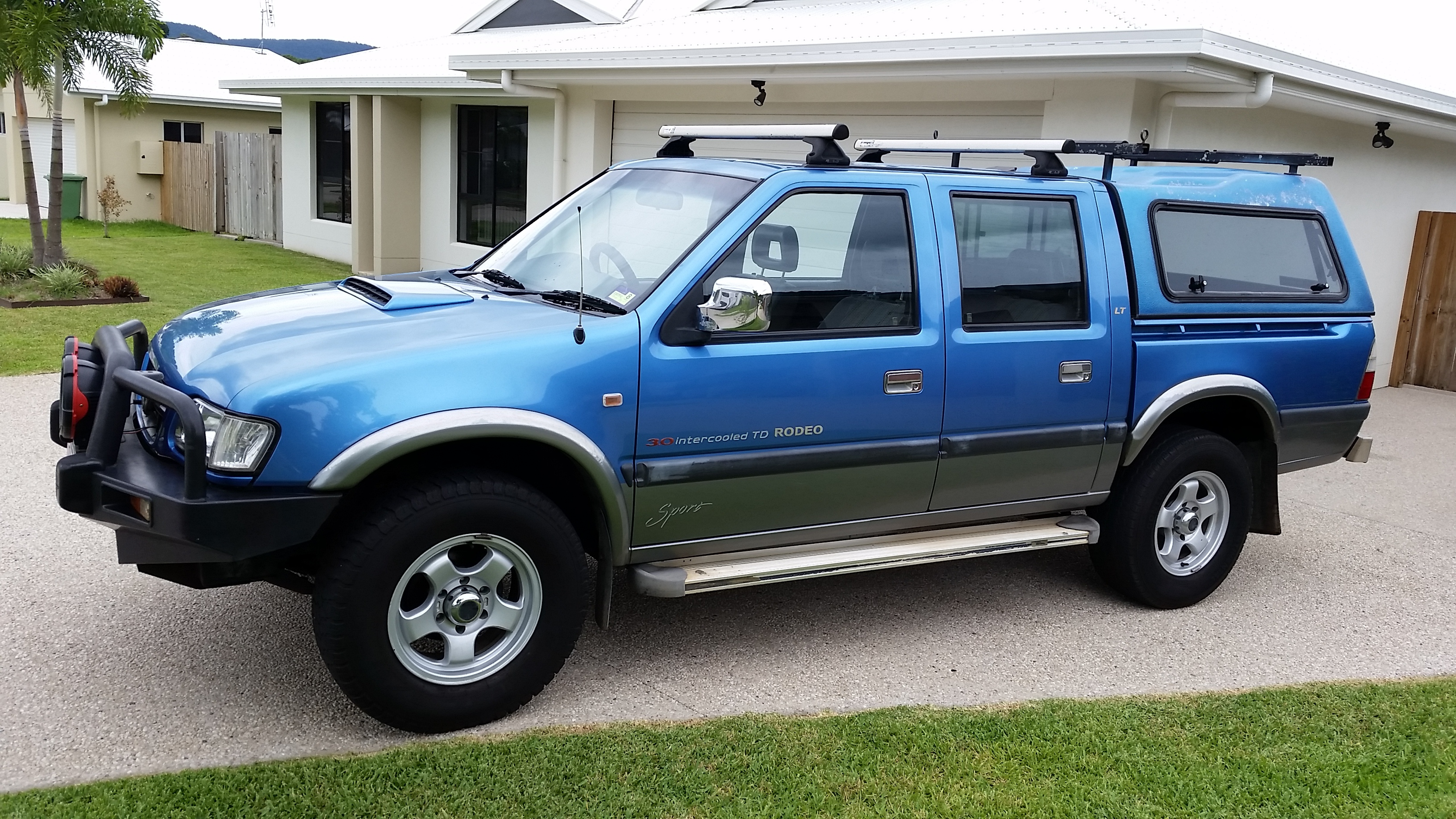 2002 Holden Rodeo LT Sports