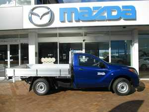 2015 Mazda BT-50 B22P XT 4x2 Blue 6 Speed Manual Cab Chassis