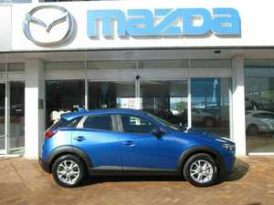 2015 Mazda CX-3 DK2WS6 Maxx SKYACTIV-Drive Blue 6 Speed Sports Automatic Wagon