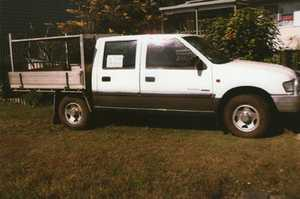 auto, dual cab w/tray,