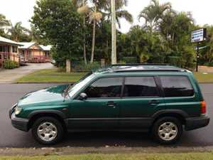 2001 only 120Klm economical, reliable April 2016 rego Good condition $2600   Subaru Forester 10 months rego power options cruise, dual airbags. $4200   0448 123 600   MD033756