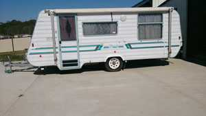Pop top  1998 model  dbl bed  Fully ins frame,  Roll outawning & as new annex  $12,990  Ph: 0437207733