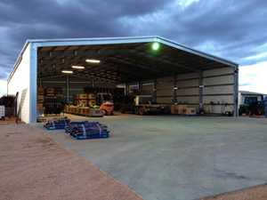 18m x 27m x 5.7m rising to over 7m