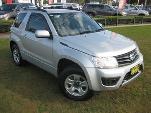 2014 Suzuki Grand Vitara JT MY13 (4x4) Silver 4 Speed Automatic Wagon