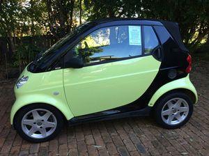 Cabrio smart car
