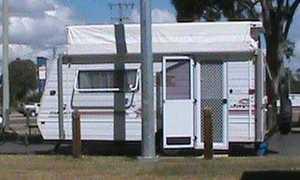 "JAYCO STARCRAFT     14'6""  2 berth poptop caravan  full annex and rollout awning  vgc  reg  $12,000 ono   Ph (07) 41940263"
