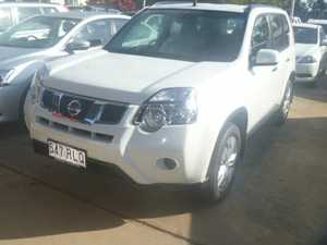 2011 Nissan X-Trail T31 MY10 ST White 6 Speed Manual Wagon