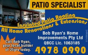 Insulated Patio Roofing - All Home Renovations & Extenstions