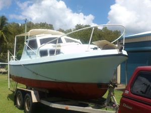 Roberts Longboat 21ft ( Tangaroa )