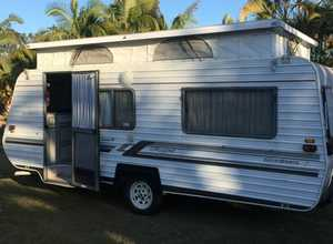 Present excellent, very neat and well looked after!   A/C, 2 x good size single beds, 3 way fridge, full oven + m/wave,   Safety & gas cert   $10,900ono. 0410 564 011