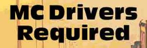 MC Drivers Required    For East Coast runs from Brisbane to Gladstone and Melbourne.   To apply, please call 0409624836