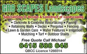 Specialising in Design & Construct of Landscape