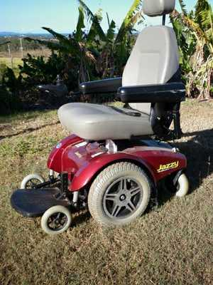 Motorised Wheelchair Pride Jersey Select 14. Good condition, 5 yrs old,