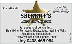 ALL ASPECTS OF CONCRETING :