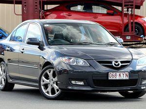 2007 Mazda 3 BK1032 SP23 Grey 6 Speed Manual Sedan
