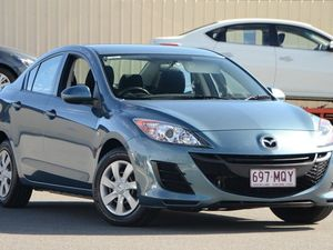2009 Mazda 3 BL10F1 Neo Activematic Blue 5 Speed Auto Seq Sportshift Sedan