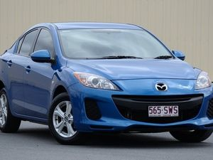 2013 Mazda 3 BL10F2 MY13 Neo Activematic Blue 5 Speed Auto Seq Sportshift Sedan