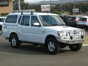 2011 Mahindra Pik-Up S5 11 Upgrade (4x4) White 5 Speed Manual Dual Cab Utility