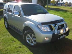2013 Nissan Pathfinder R51 Series4 Adventure S.e. Silver 5 Speed Automatic Wagon