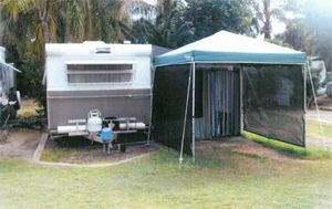 18' Crestline 1978    Full annexe + roll out awning, gazebo  Reverse cycle air conditioning  Island bouble bed  Entertainment unit  Microwave  bike rack  front kitchen  elect brakes  Good condition  bargain $9950   Ph 0405 730 308