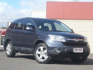 2008 Honda CR-V RE MY2007 4WD Grey 5 Speed Automatic Wagon