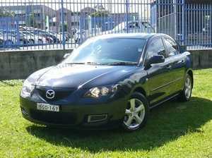 2008 Mazda 3 BK10F2 MY08 Neo Sport Black 4 Speed Auto Seq Sportshift Sedan