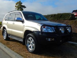 2009 Toyota Landcruiser Prado KDJ120R GXL Gold 5 Speed Automatic Wagon