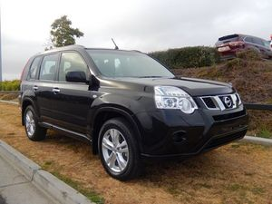 2013 Nissan X-Trail T31 Series V ST Black 1 Speed Constant Variable Wagon