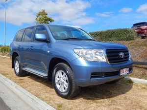2007 Toyota Landcruiser VDJ200R GXL Blue 6 Speed Auto Seq Sportshift Wagon