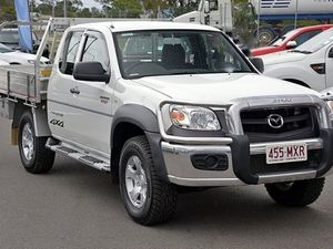 2010 Mazda BT-50  White 5 Speed Manual